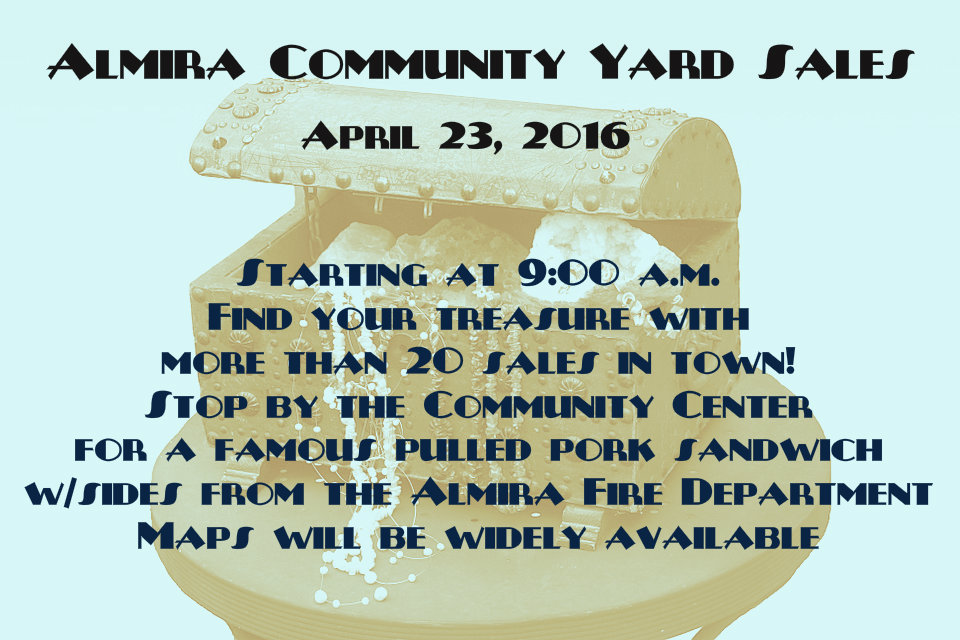 Almira Yard Sales