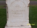 Wild Bill Grave Stone